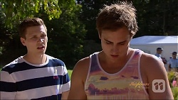 Josh Willis, Kyle Canning in Neighbours Episode 7074