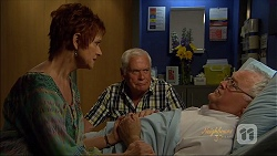 Susan Kennedy, Lou Carpenter, Harold Bishop in Neighbours Episode 7074