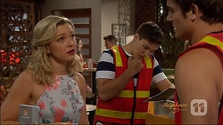Georgia Brooks, Josh Willis, Kyle Canning in Neighbours Episode 7074