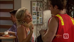 Georgia Brooks, Kyle Canning in Neighbours Episode 7074
