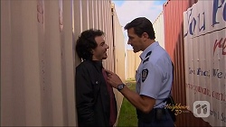 Joey Dimato, Matt Turner in Neighbours Episode 7074