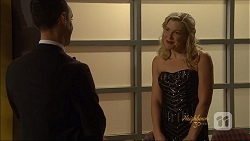 Nick Petrides, Georgia Brooks in Neighbours Episode 7074