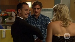 Nick Petrides, Kyle Canning, Georgia Brooks in Neighbours Episode 7074