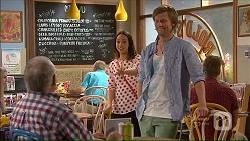 Harold Bishop, Imogen Willis, Daniel Robinson in Neighbours Episode 7075