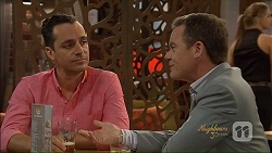 Nick Petrides, Paul Robinson in Neighbours Episode 7075