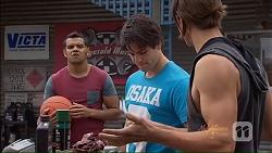 Nate Kinski, Chris Pappas, Tyler Brennan in Neighbours Episode 7076