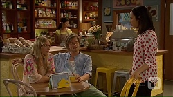 Amber Turner, Daniel Robinson, Imogen Willis in Neighbours Episode 7076