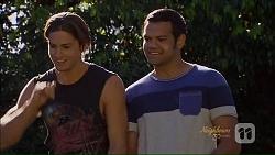 Tyler Brennan, Nate Kinski in Neighbours Episode 7076