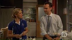 Georgia Brooks, Nick Petrides in Neighbours Episode 7077