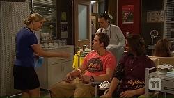 Georgia Brooks, Kyle Canning, Nick Petrides, Brad Willis in Neighbours Episode 7077