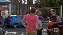Kyle Canning, Nate Kinski, Tyler Brennan in Neighbours Episode 7077