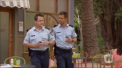 Const. Ian McKay, Mark Brennan in Neighbours Episode 7077