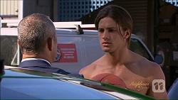 Dennis Dimato, Tyler Brennan in Neighbours Episode 7077