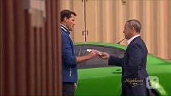 Matt Turner, Dennis Dimato in Neighbours Episode 7077