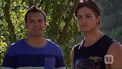 Nate Kinski, Tyler Brennan in Neighbours Episode 7078