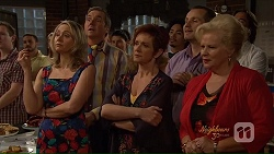 Janelle Timmins, Karl Kennedy, Susan Kennedy, Toadie Rebecchi, Sheila Canning in Neighbours Episode 7078