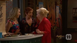 Janelle Timmins, Susan Kennedy, Sheila Canning in Neighbours Episode 7078