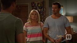 Mark Brennan, Lauren Turner, Matt Turner in Neighbours Episode 7078
