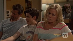 Matt Turner, Bailey Turner, Lauren Turner in Neighbours Episode 7079