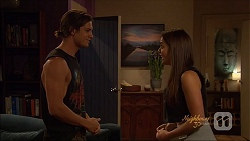 Tyler Brennan, Paige Novak in Neighbours Episode 7079