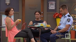 Naomi Canning, Tyler Brennan, Mark Brennan in Neighbours Episode 7080