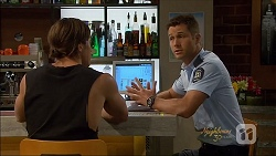 Tyler Brennan, Mark Brennan in Neighbours Episode 7080