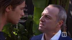 Tyler Brennan, Dennis Dimato in Neighbours Episode 7080