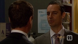 Paul Robinson, Nick Petrides in Neighbours Episode 7080