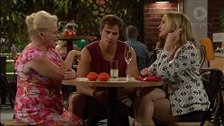 Sheila Canning, Kyle Canning, Sharon Canning in Neighbours Episode 7081