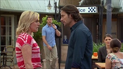 Lauren Turner, Matt Turner, Brad Willis in Neighbours Episode 7081