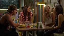 Tyler Brennan, Paige Novak, Amber Turner, Imogen Willis in Neighbours Episode 7082