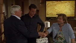 Tom Ramsay, Paul Robinson, Daniel Robinson in Neighbours Episode 7083