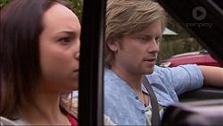 Imogen Willis, Daniel Robinson in Neighbours Episode 7083