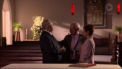 Harold Bishop, Lou Carpenter, Susan Kennedy in Neighbours Episode 7083