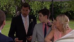 Matt Turner, Bailey Turner, Lauren Turner in Neighbours Episode 7084