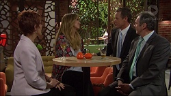 Susan Kennedy, Nina Tucker, Paul Robinson, Karl Kennedy in Neighbours Episode 7084