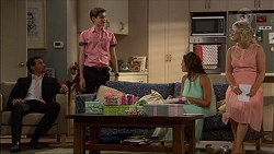 Matt Turner, Bailey Turner, Paige Novak, Lauren Turner in Neighbours Episode 7084