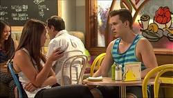 Paige Novak, Josh Willis in Neighbours Episode 7084