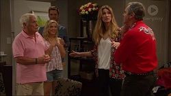 Lou Carpenter, Georgia Brooks, Mark Brennan, Nina Tucker, Karl Kennedy in Neighbours Episode 7084