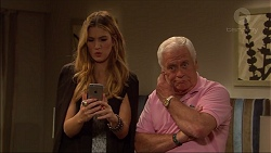 Nina Tucker, Lou Carpenter in Neighbours Episode 7084