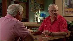 Lou Carpenter, Harold Bishop in Neighbours Episode 7085