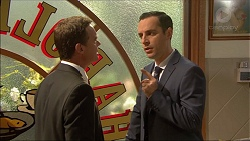 Paul Robinson, Nick Petrides in Neighbours Episode 7085