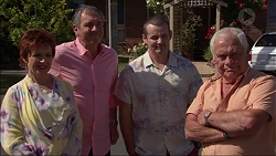 Susan Kennedy, Karl Kennedy, Toadie Rebecchi, Lou Carpenter in Neighbours Episode 7085
