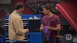 Matt Turner, Tyler Brennan in Neighbours Episode 7086