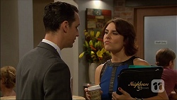 Nick Petrides, Naomi Canning in Neighbours Episode 7086