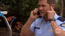 Josh Willis, Kyle Canning, Mark Brennan in Neighbours Episode 7087
