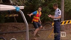 Josh Willis, Mark Brennan in Neighbours Episode 7087