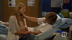 Amber Turner, Daniel Robinson in Neighbours Episode 7087