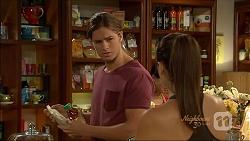 Tyler Brennan, Paige Novak in Neighbours Episode 7087