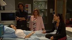 Imogen Willis, Brad Willis, Terese Willis, Paige Novak in Neighbours Episode 7087